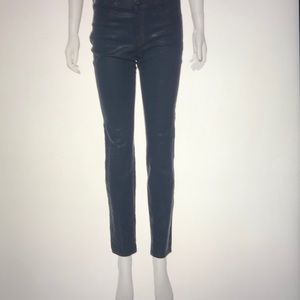 J Brand Mid-Rise Coated Jeans US 31
